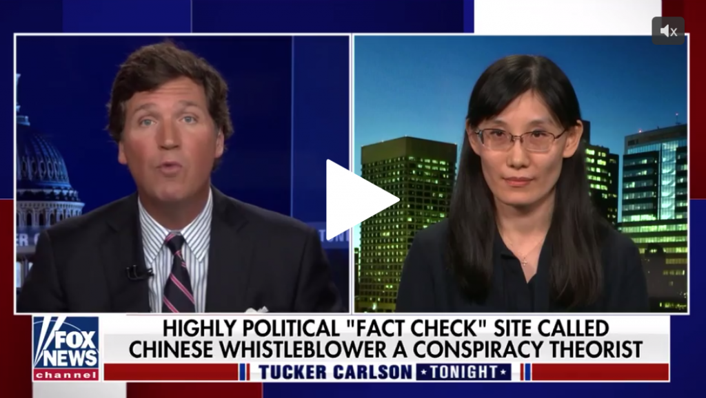 Dr. Li Meng Ya claims she has produced evidence that COVID was lab-made