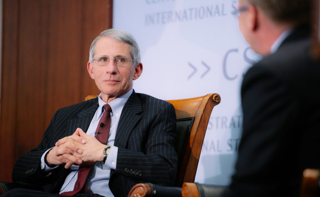 REMINDER: Fauci Predicted 'Surprise Infectious Disease Outbreak' During Trump Presidency In 2017