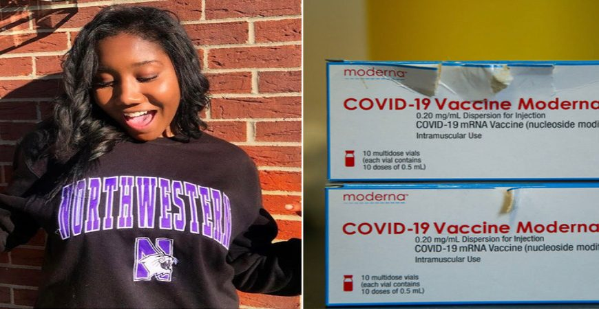 College Student Abruptly Dies Two Weeks After Receiving Second Moderna Shot