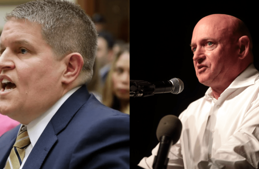 Arizona Republicans Call on Mark Kelly to Recuse Himself from Vote on Biden's ATF Nominee Who Defended Waco Massacre