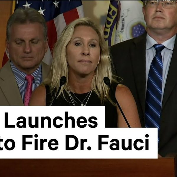 Marjorie Taylor Greene and House Republicans Discuss Fire Fauci Act